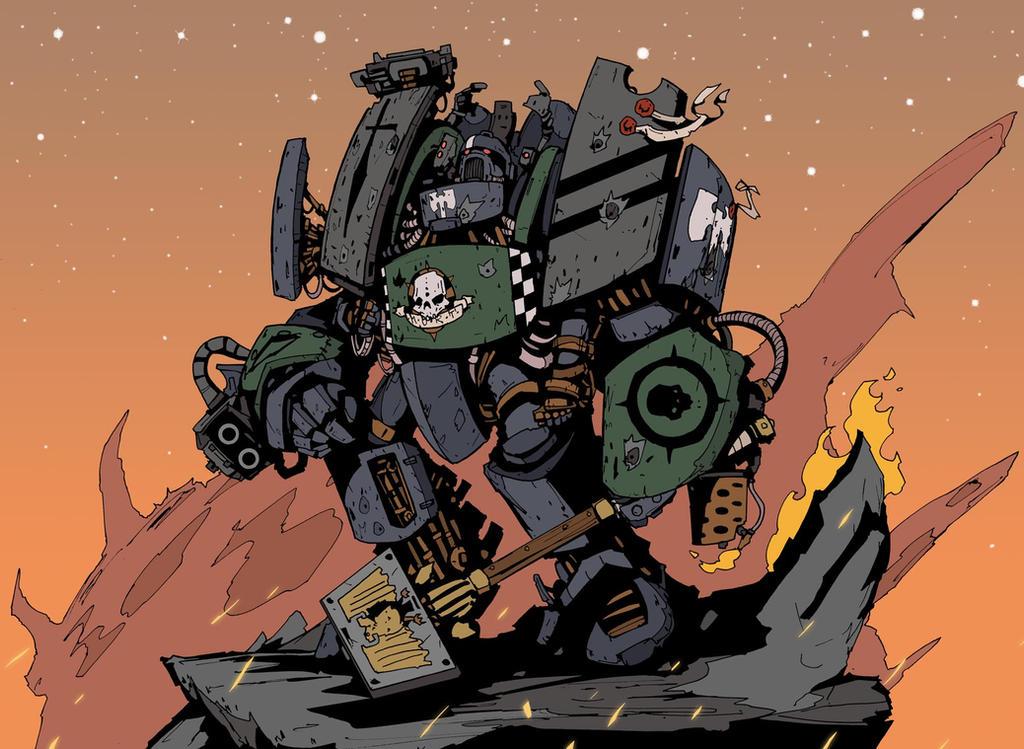 Dark Hunters Space Marine Centurion by DarkMechanic