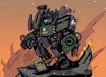 Dark Hunters Space Marine Centurion