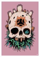 Skull of Bah'Riar by DarkMechanic