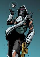 Destiny - Hunter by DarkMechanic
