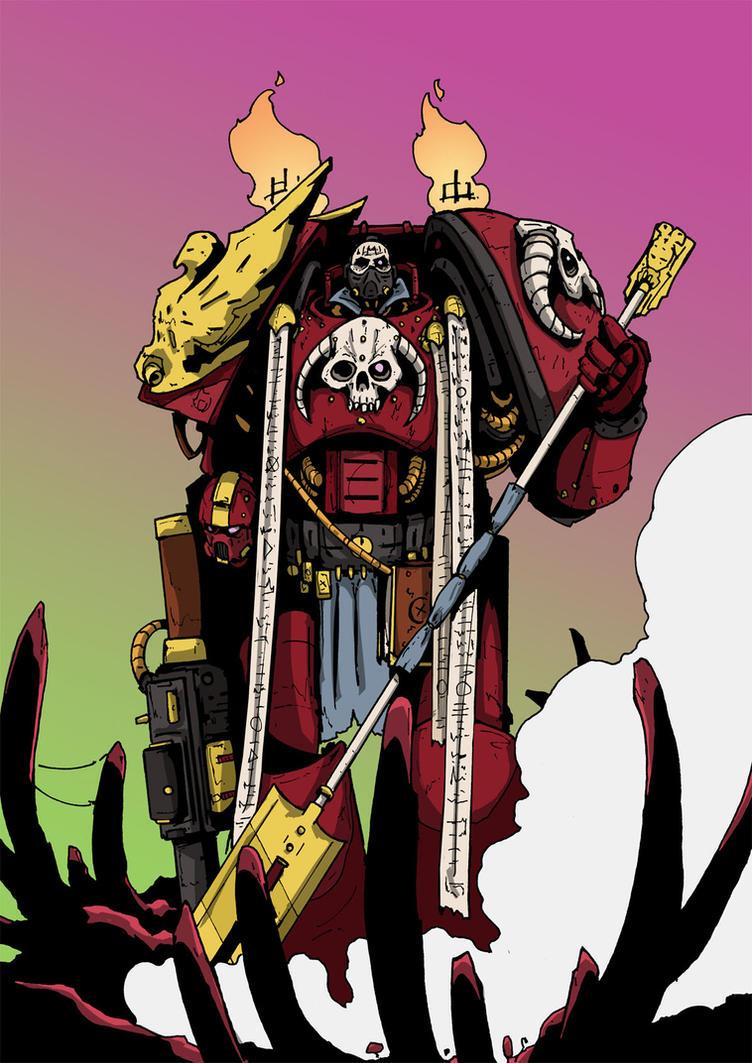 Exorcist Marine by DarkMechanic