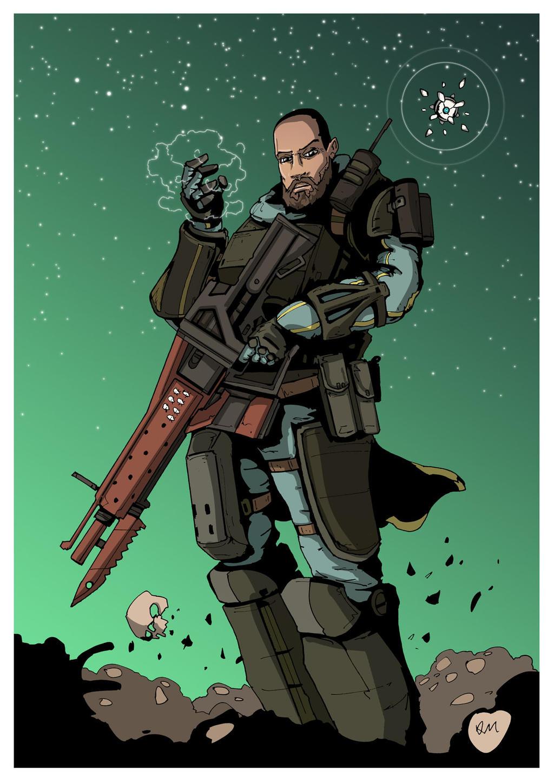 titan destiny commission by darkmechanic on deviantart