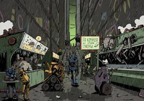 MYZ - Back Street by DarkMechanic