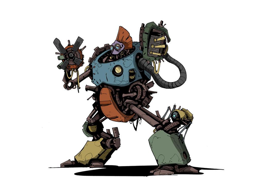 MYZ - Junk Bot by DarkMechanic