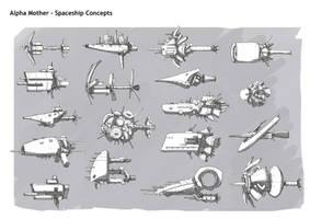 Portfolio Spaceships by DarkMechanic