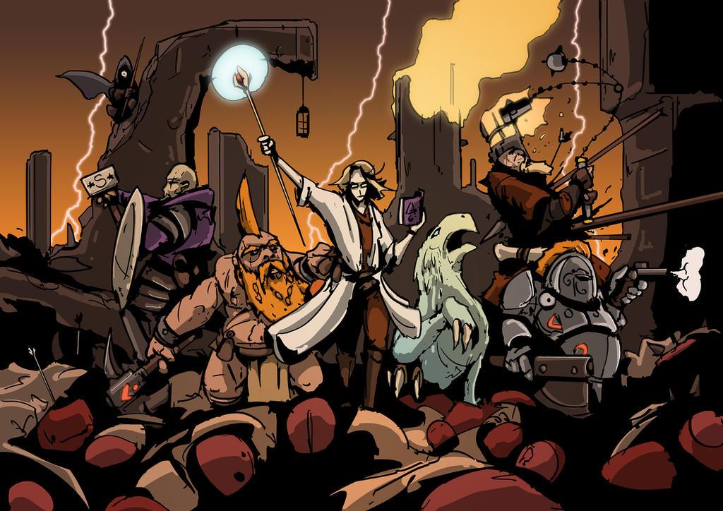 Warhammer Quest Band by DarkMechanic