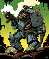 Alpha Legion Siege Breaker Consul by DarkMechanic