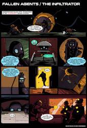 Fallen Agents - The Infiltrator by DarkMechanic