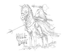 Warhead, rider of the F.O.R Horsemen