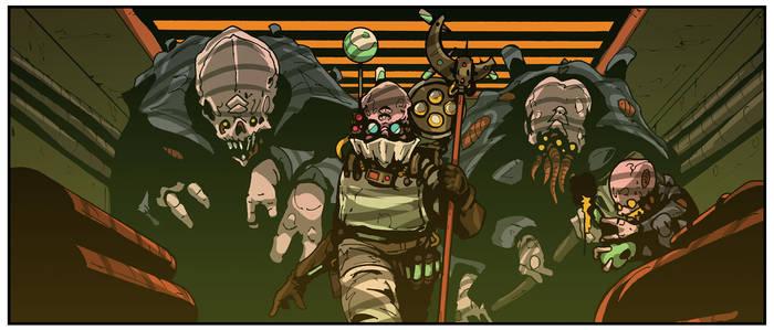 Genestealer Cult Animation - Magos
