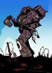 Space Shark - Veteran of the Badab War (alt colour