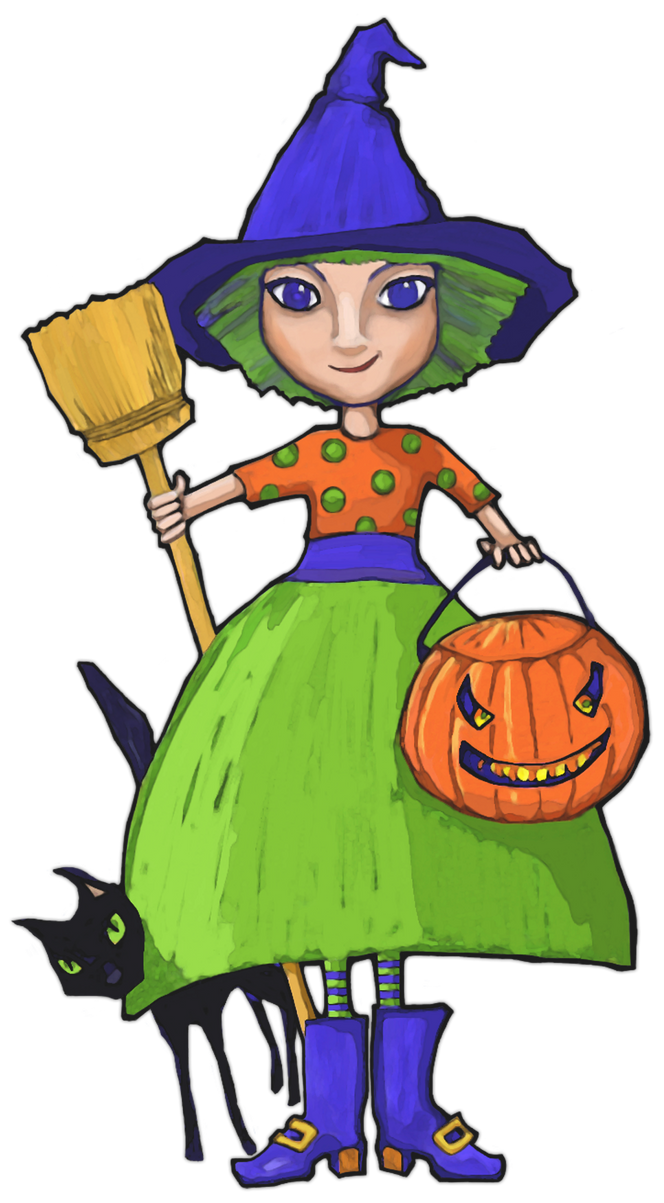Little Witch by mrana