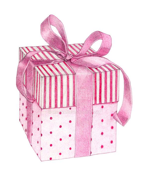 Pink Gift Box by mrana