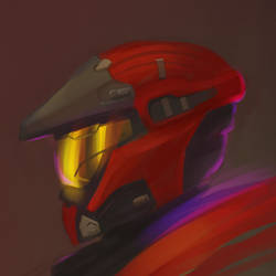 Halo Spartan Speed Paint by atmic
