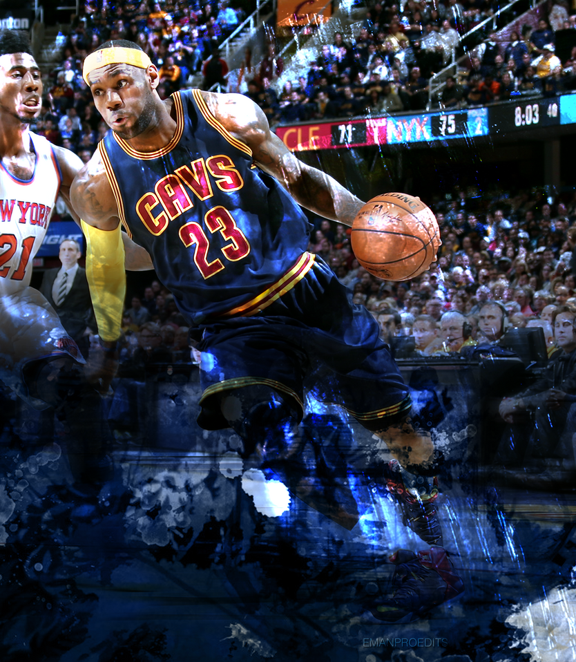 LeBron James Cleveland Cavaliers 2 By Emanproedits