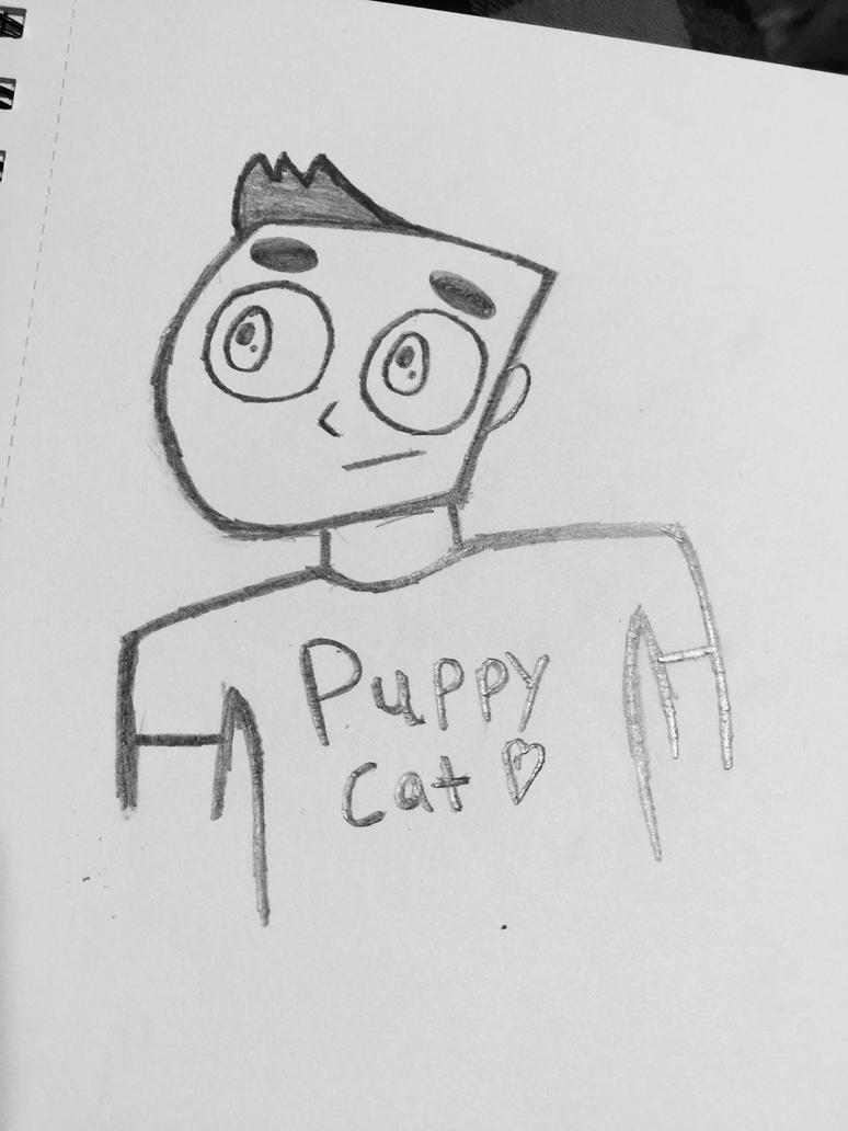 A little Sketch I did Last night  by Baileymon9
