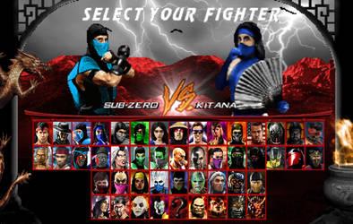 Mortal Kombat Madness Returns 2.3 Character Roster by pandudragon234