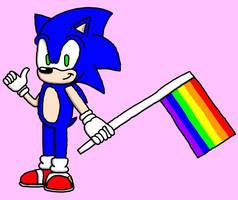 Sonic the LGBT Hero! by BlueHedgehog1997