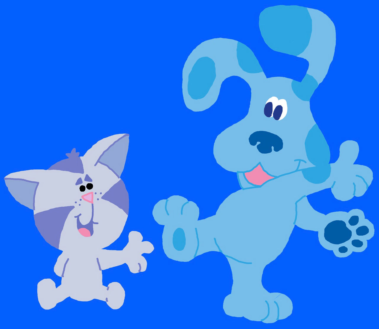 Blue And Periwinkle Blue S Clues By Bluehedgehog1997 On Deviantart