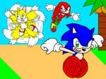 Sonic Heroes! by BlueHedgehog1997