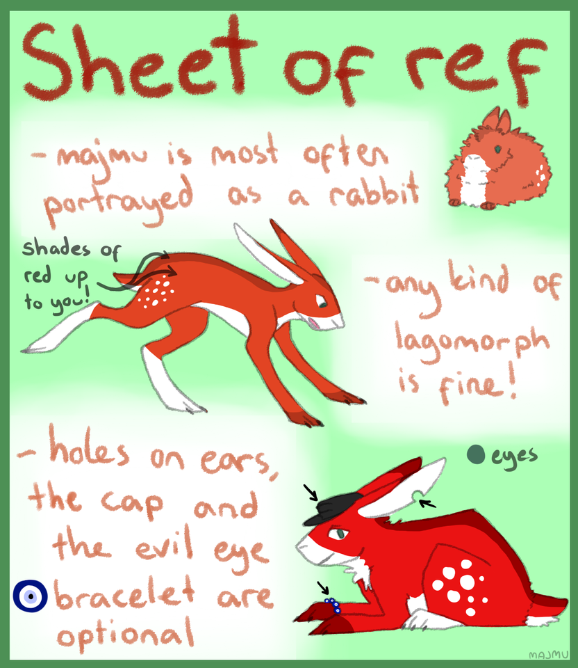 majmu : Reference sheet (2015) by majmu