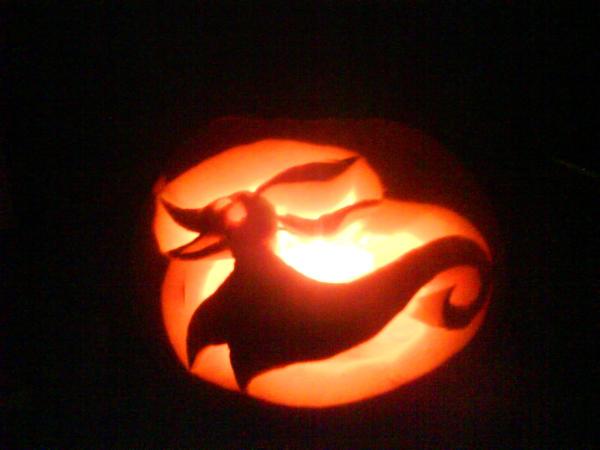 Zero Pumpkin Carving Template