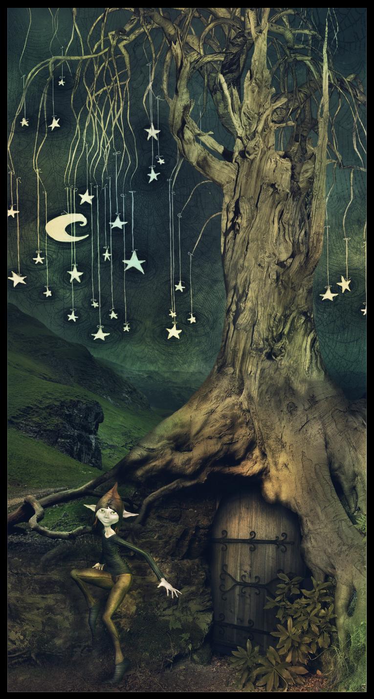 Wet stars by Flora-Silve