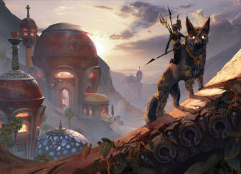 Vabbi's Necropolis by Flora-Silve