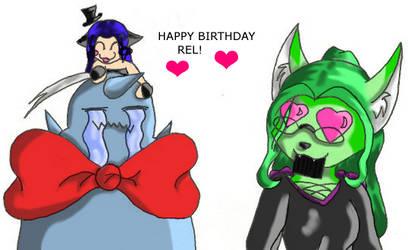 Pressie:: Happy Birthday Rel by kitarakata