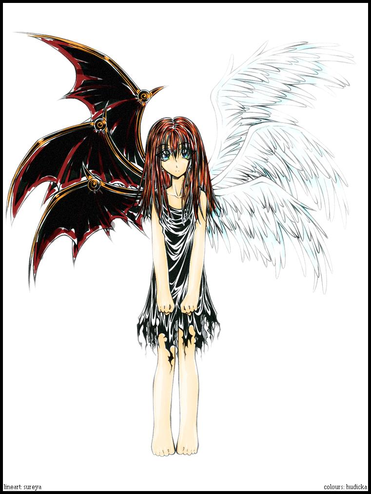 angelic devil by hudicka