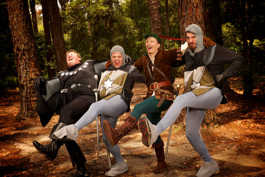 Robin Hood: Manly Men!
