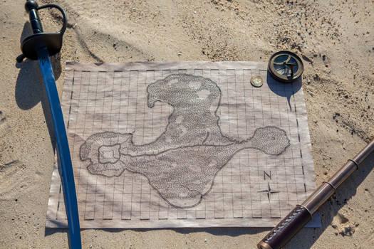 Monkey Island: The Map!