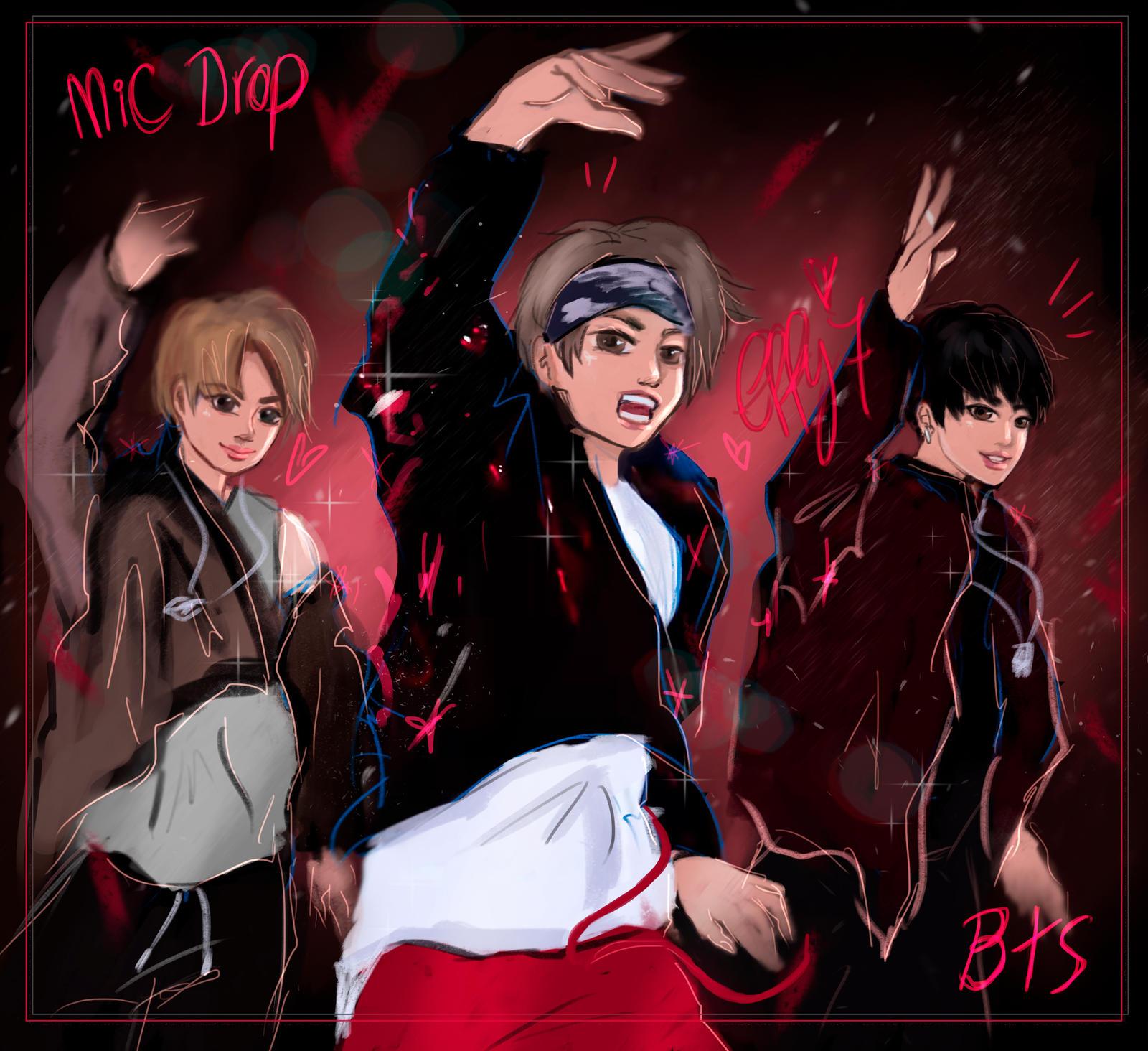 bts   mic drop by effy7 dbuqphl