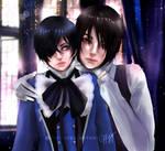 Ciel and Sebastian by effy7