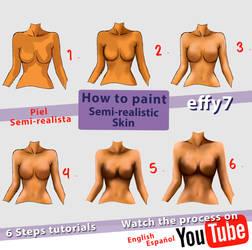 Free Skin tutorial video 6 steps