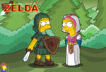 TLOZ - The Simpsons Quest by mastadee