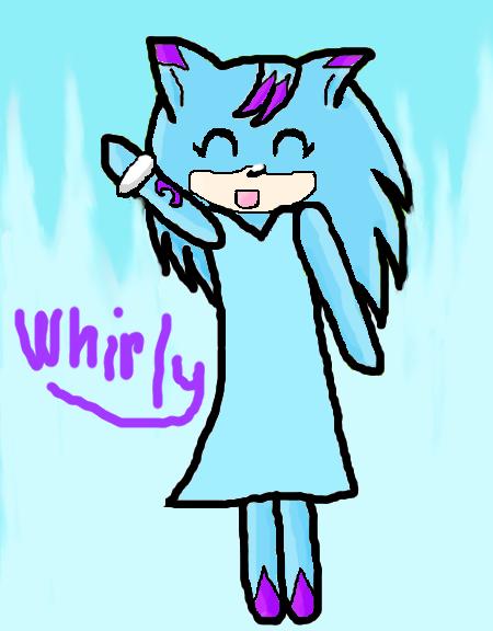 Chibi Whirly by WhirlwindTheHedgehog
