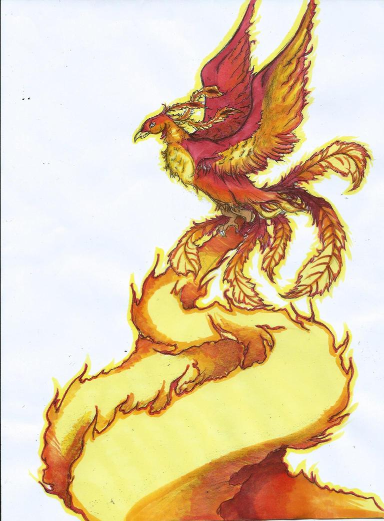 Phoenix Feutre by mcirnelle