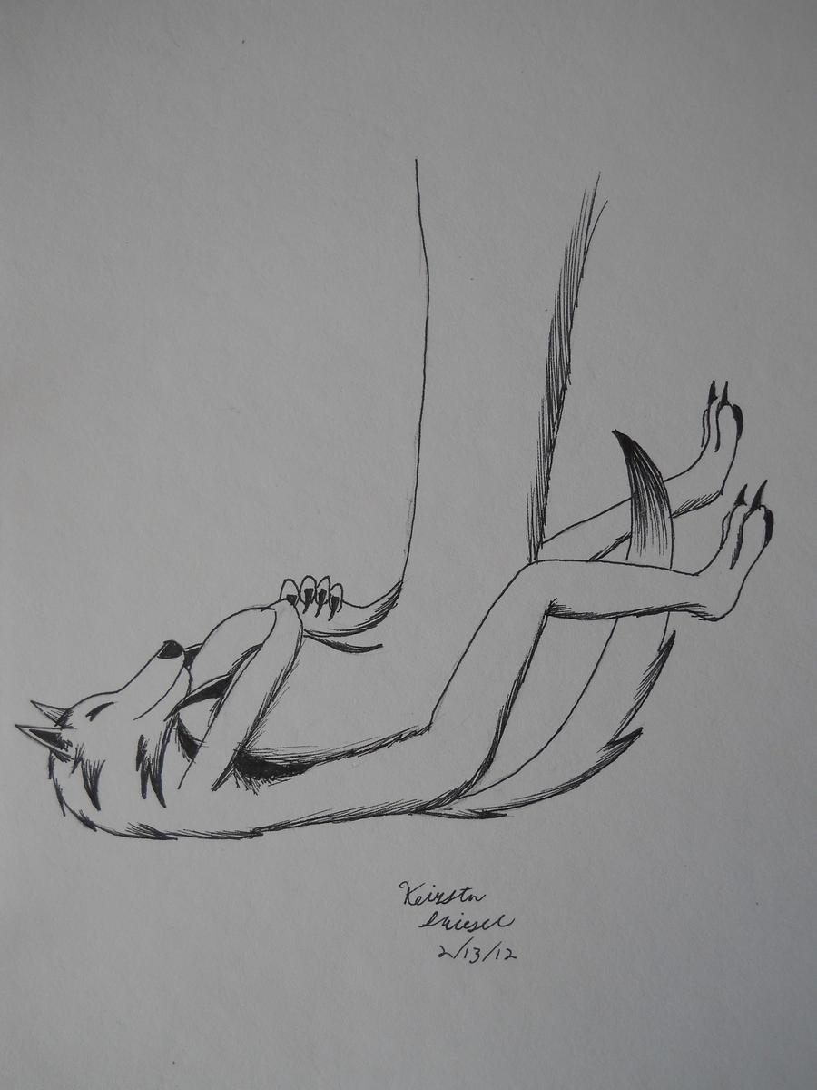 Paw Fetish by ArchangelVampire