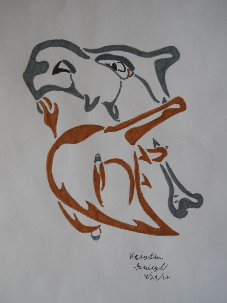 Tribal Cubone By ArchangelVampire On DeviantArt