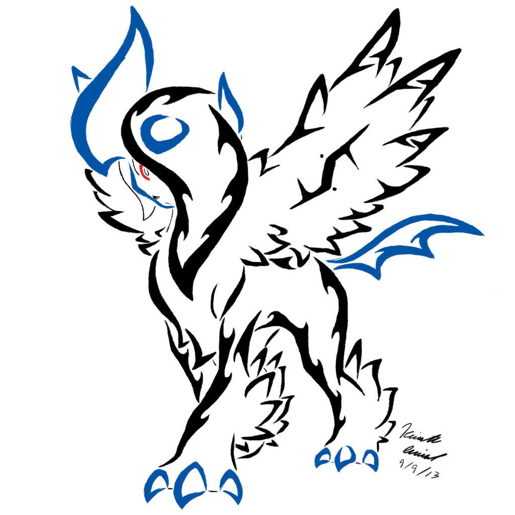 Tribal-Tattoos mega_absol_tribal_tattoo_by_archangelvampire-d6lqa3s