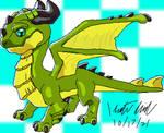 Pixel Verdrake dragon (Dragon Mania Legends)