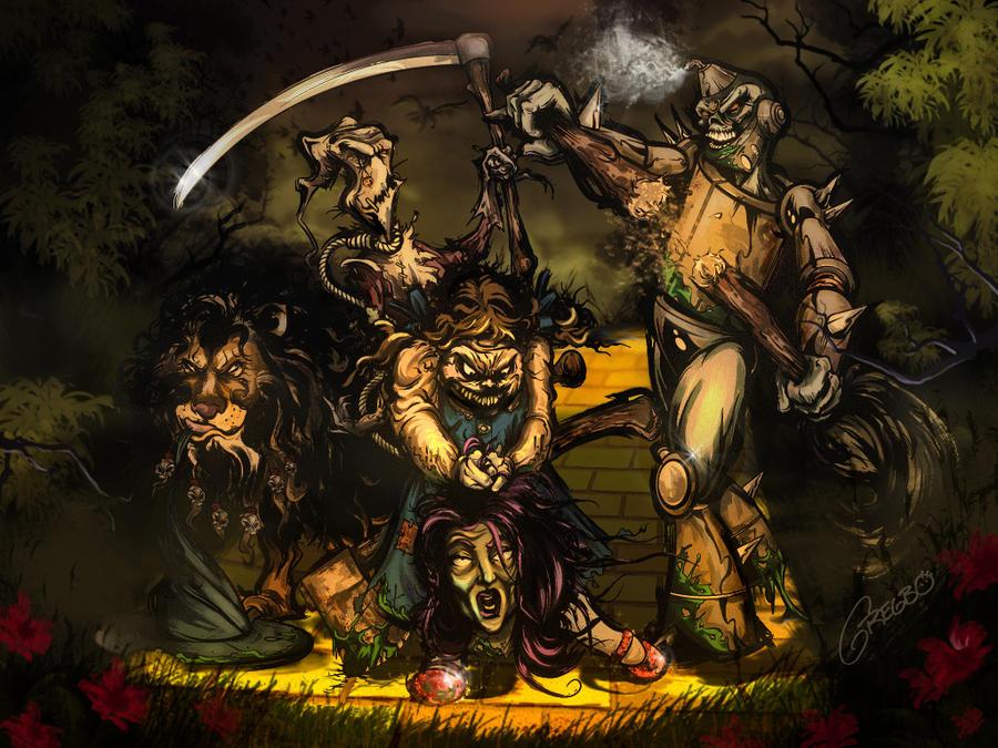 Darker Side of Oz by gregbo