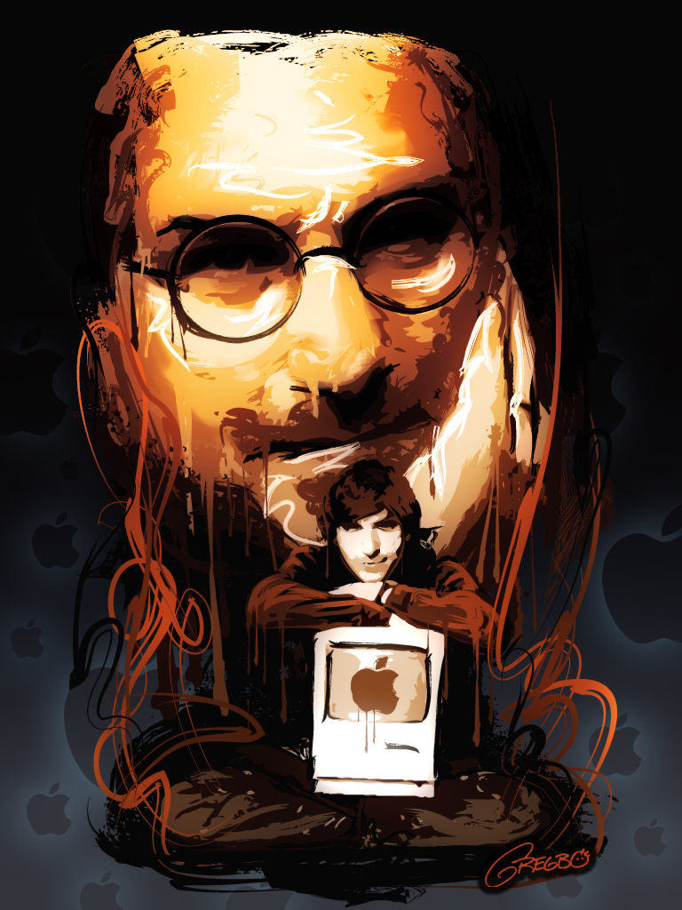 Art Jobs : Tribute to steve jobs by gregbo on deviantart