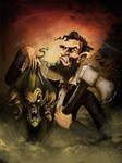 Abraham Lincoln - Vampire Hunter by gregbo