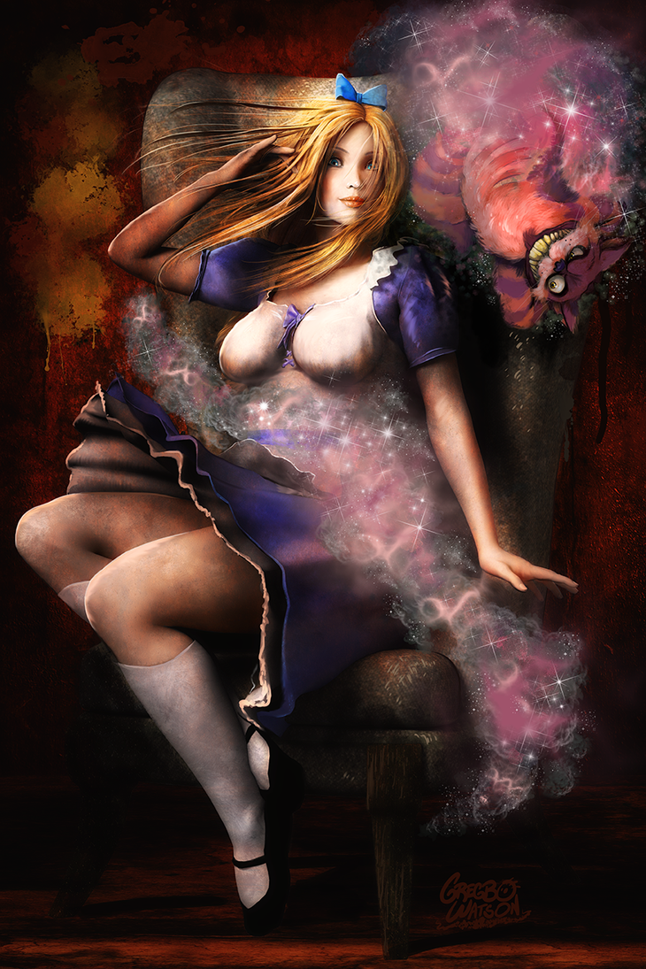Alice in Wonderland by gregbo