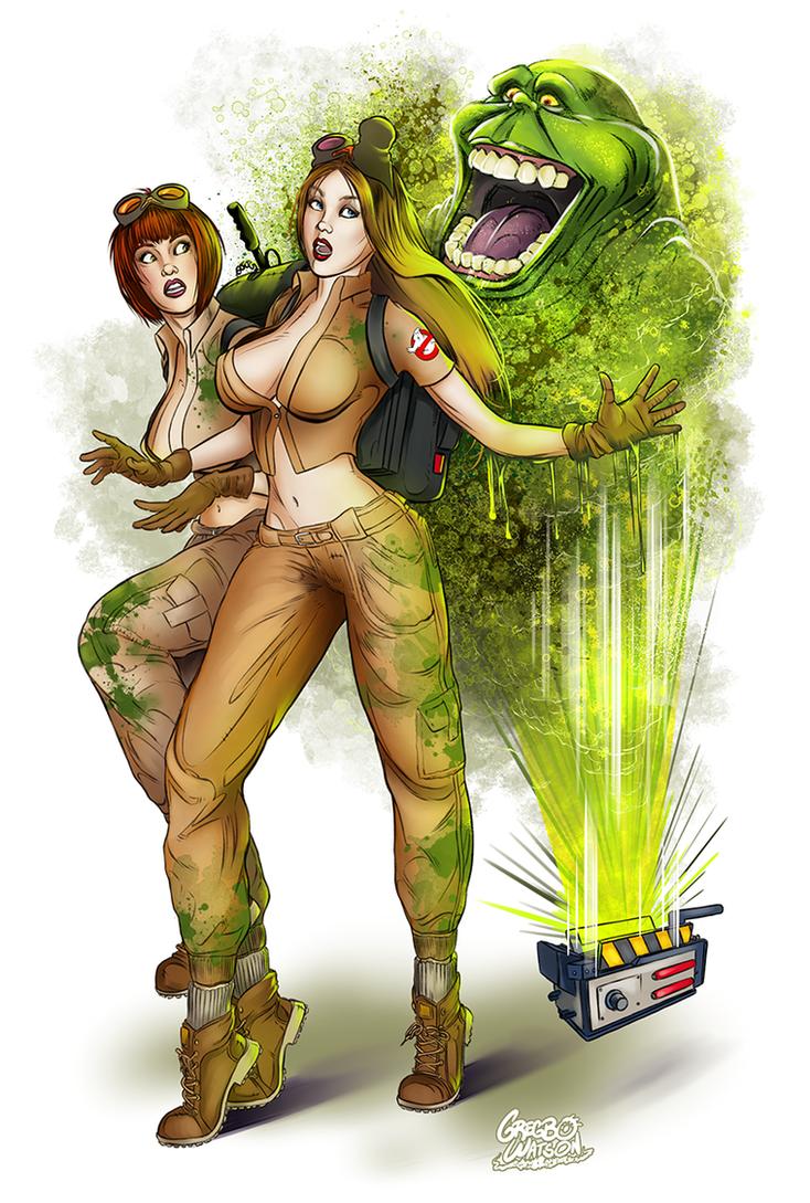 Ghostbustin' Girls by gregbo
