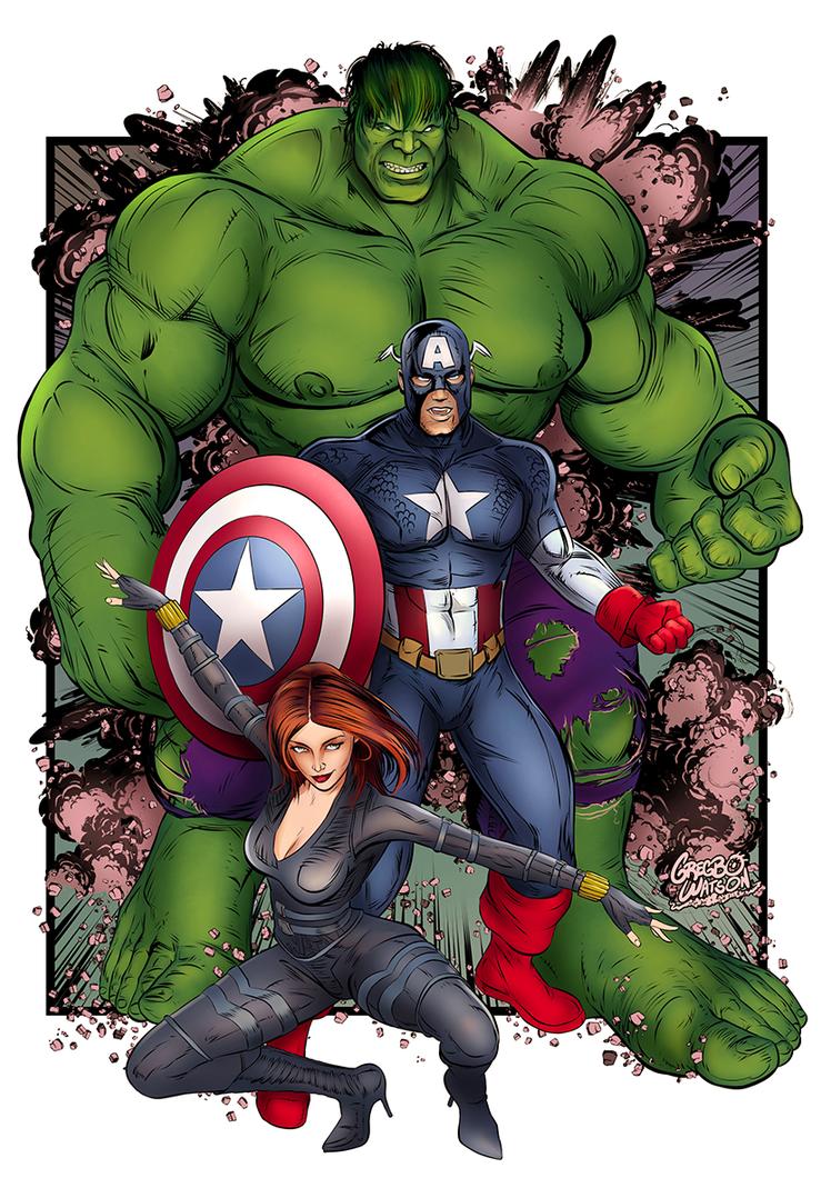 Avengers by gregbo