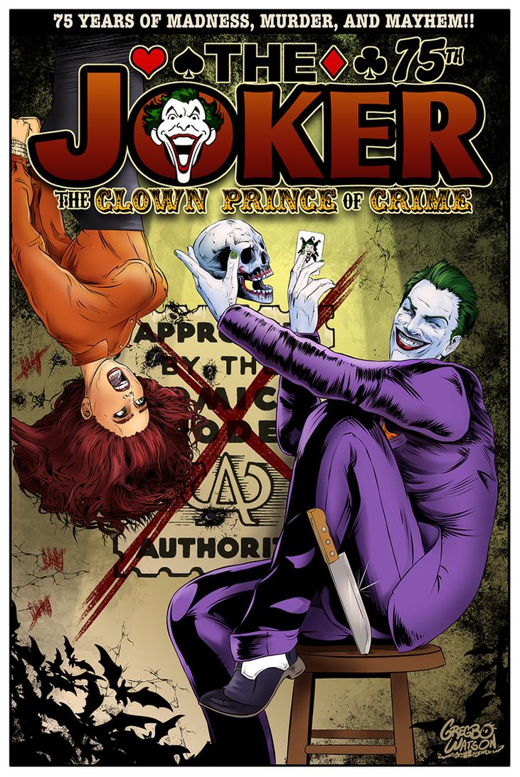 Joker Anniversary by gregbo