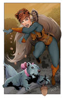 Squirrel Girl by gregbo